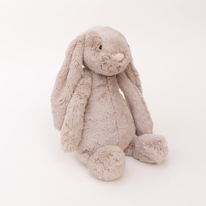 front view bashful bunny by jellycat
