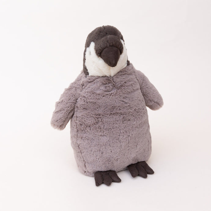 front view of percy penguin by jellycat
