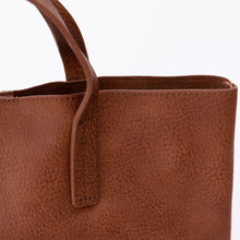 close up saddle joy susan mini tote