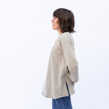 side view ecru pullover by kleen