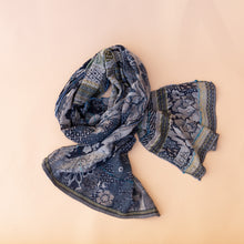 letol midnight scarf from france