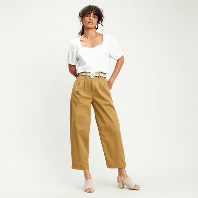 Levi's | Pleated Twill Balloon Trouser
