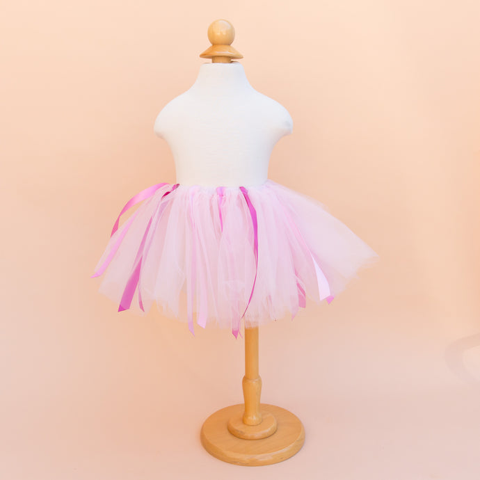 Light Pink Ribbon Tutu