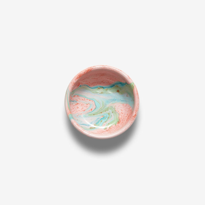 Enamelware | Blush Swirl Small Bowl