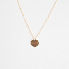 Load image into Gallery viewer, Gold Circle Mama Necklace