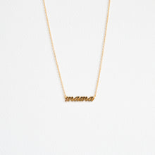 Gold Mama Necklace