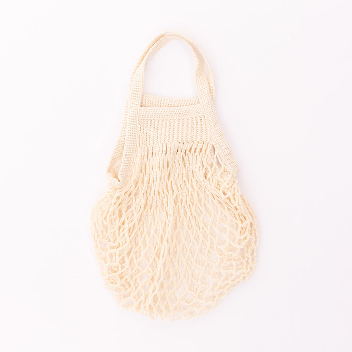 mini market bag in cream