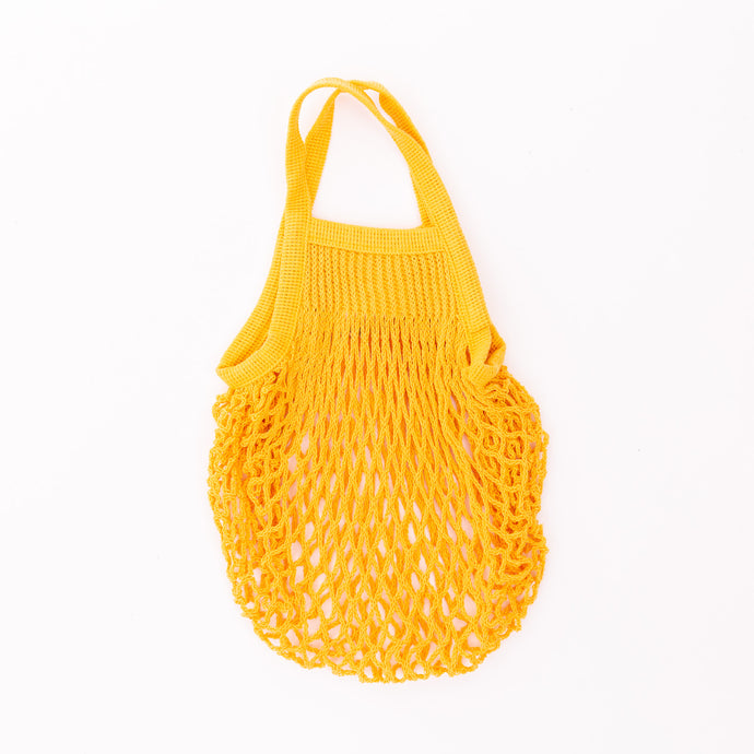 mini market bag in yellow