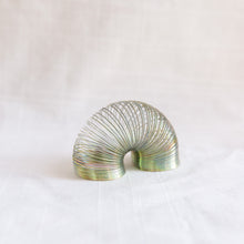 Load image into Gallery viewer, diagonal view of mini slinky toy