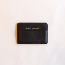 front of black card holder
