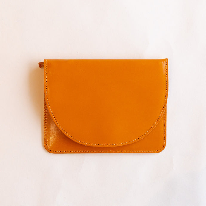 lunette wallet in cognac