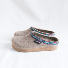 Haflinger | Natural Wool Clog