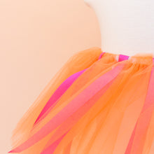 Orange Ribbon Tutu
