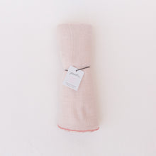 wrapped swaddle in blush by pehr