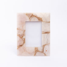 front view of light pink quartz frame