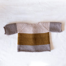 back view of rye cardigan