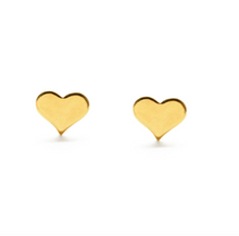 Load image into Gallery viewer, amano studio gold heart laydown on white background