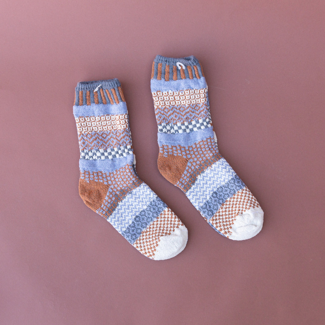 foxtail crew sock made in usa