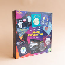 diagonal view of space exploration memory & matching game