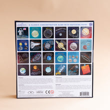 back view of space exploration memory & matching game