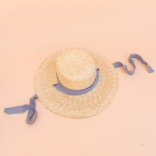 Blue Ribbon Hat