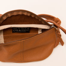 Sven | Leather Fanny Pack in Cognac