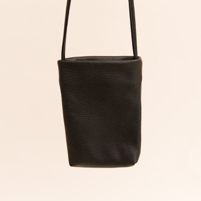 small leather bag in black from berkeley