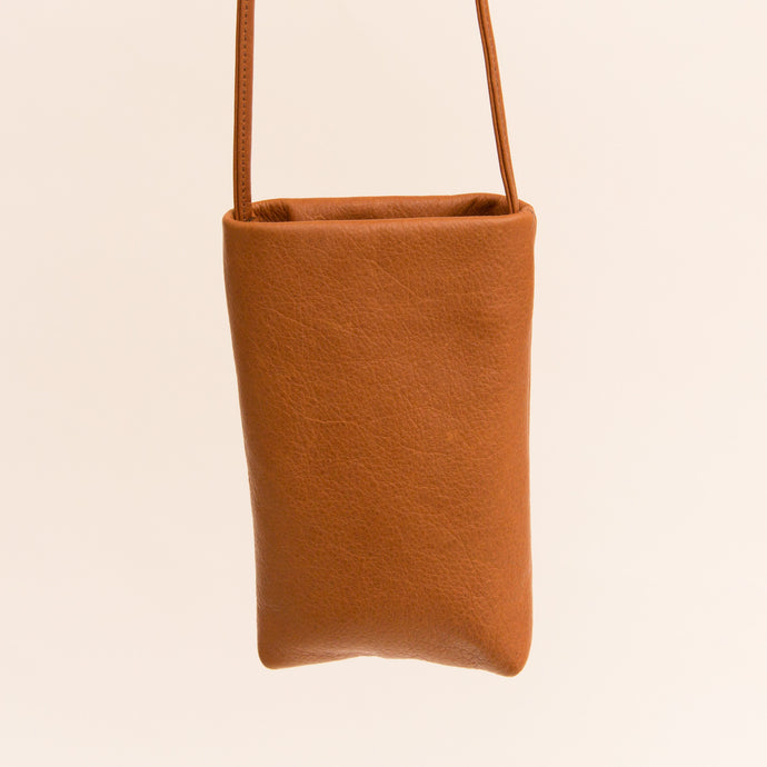 Sven | Small Leather Bag in Ochre