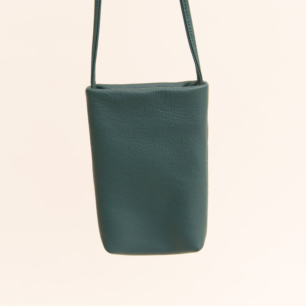 Sven | Small Leather Bag in Teal