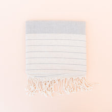 Turkish Towel in Light Blue Stripe
