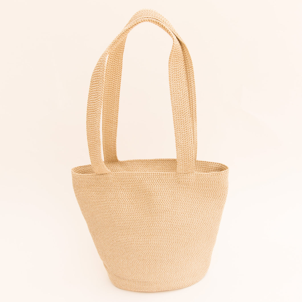 Woven Tote in Ivory