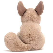 Load image into Gallery viewer, jellycat sandy chinchilla straight back view on white background