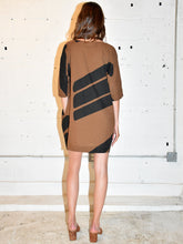 Load image into Gallery viewer, Uzi | Brown Swipe Tunic