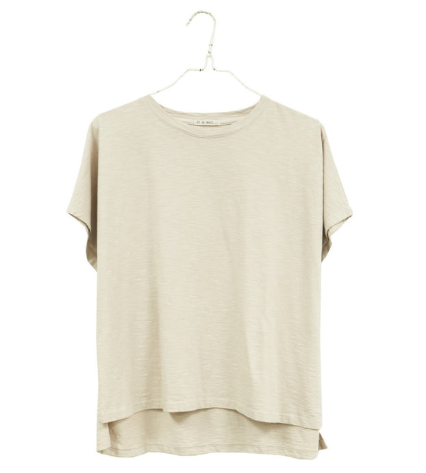 It Is Well | Boxy Tee in Natural
