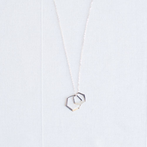 Oxygen Necklace | Sterling Silver