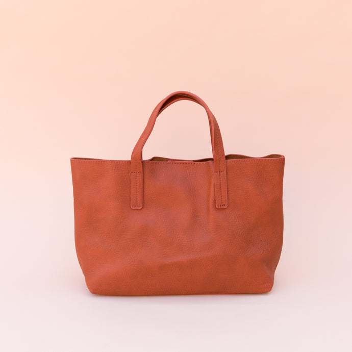 Joy Susan | Mini Tote in Paprika