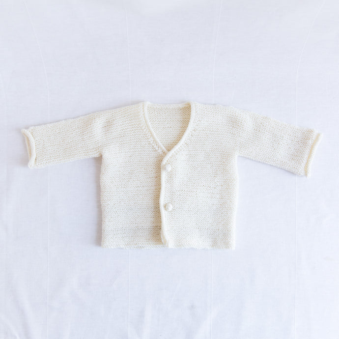 Knit Cardigan in Cream