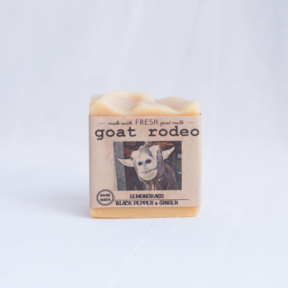 Goat Milk Soap | Lemongrass, Black Pepper & Ginger