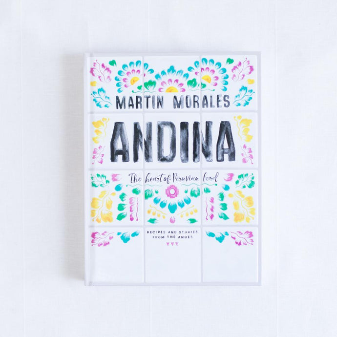 front cover of andina cookbook