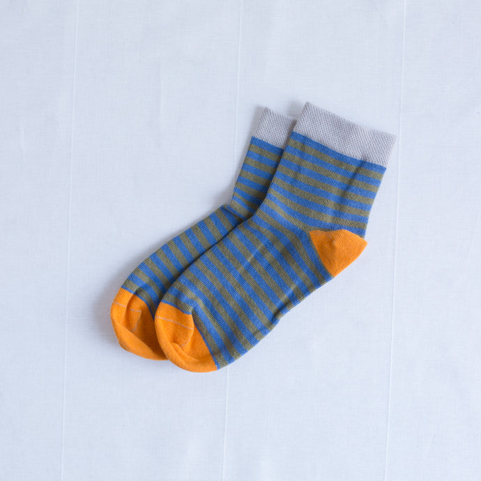 Orange Ankle Sock