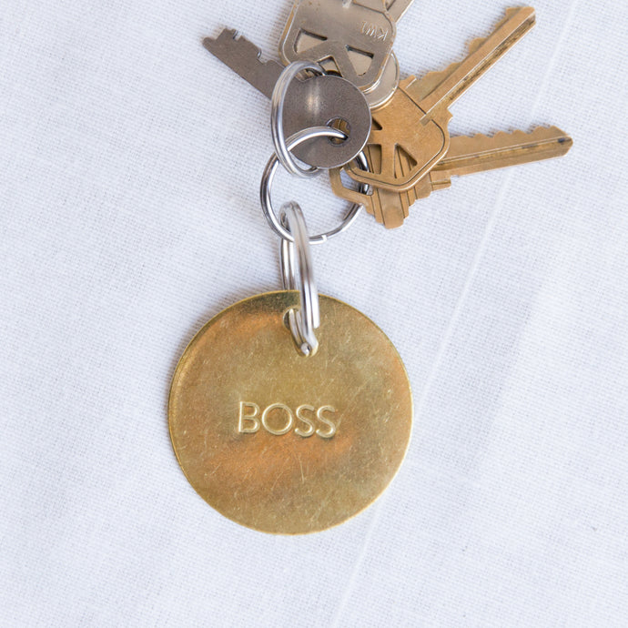 Chaparral | Large Boss Keychain