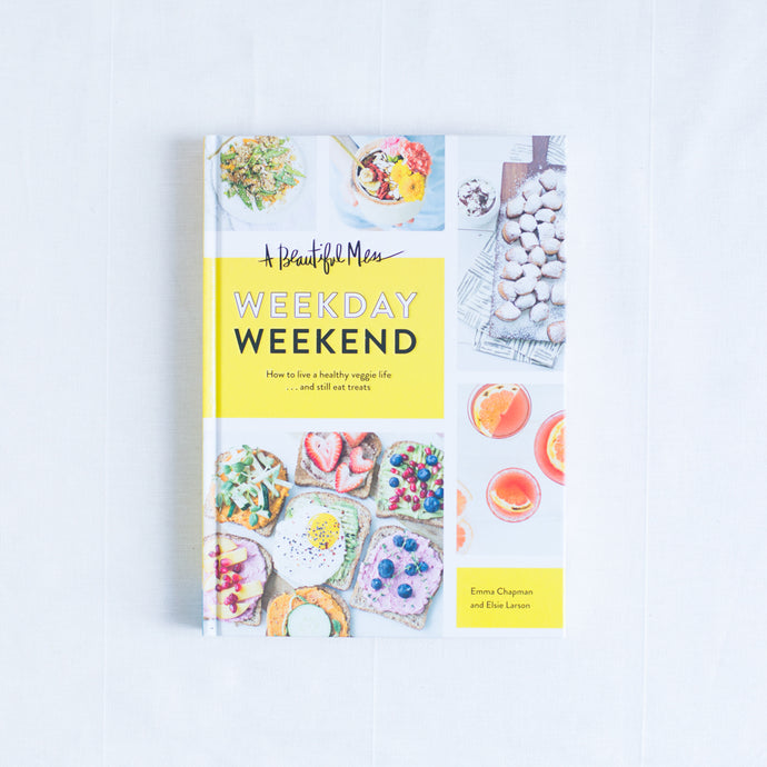 front cover of weekday weekend cookbook