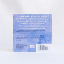 "back cover of ""A Picnic With Monet"""