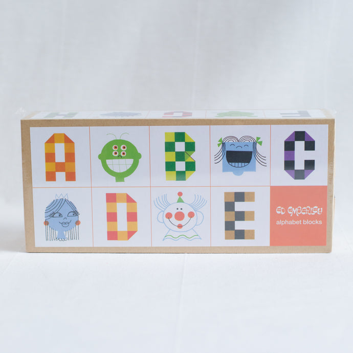 Emberley Alphabet Blocks