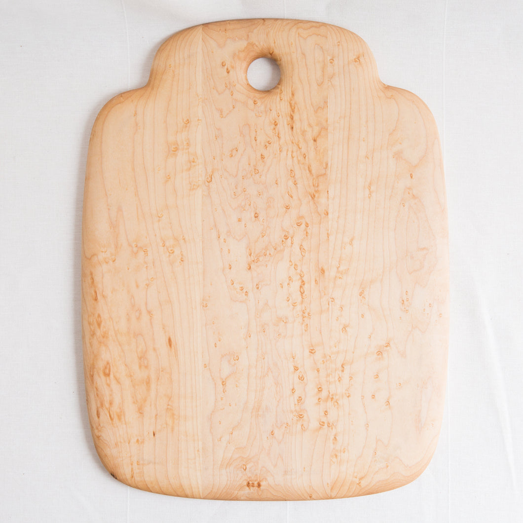 Bird's Eye Maple Cutting Board | 13 x 17