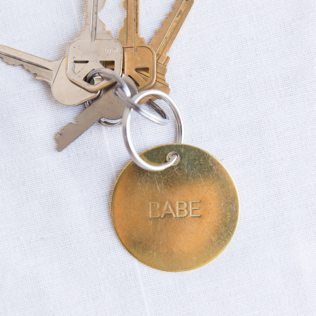 Chaparral | Large Babe Keychain