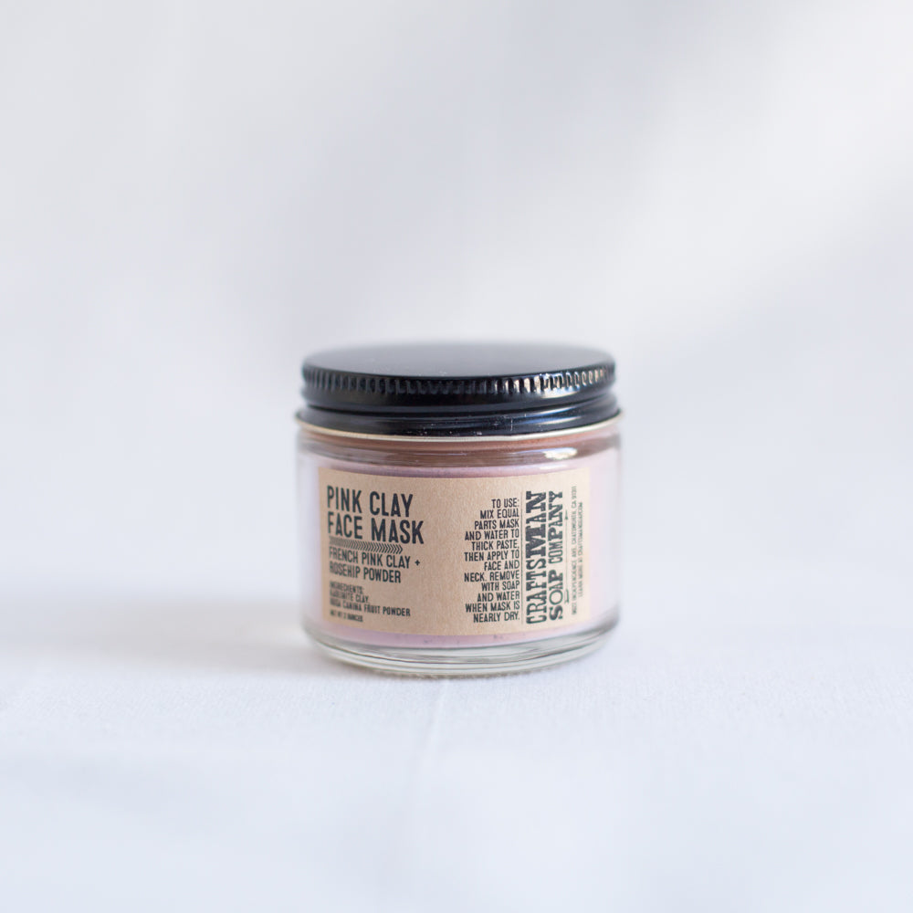 Pink Clay Face Mask