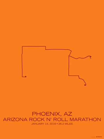 Arizona Rock N Roll Marathon