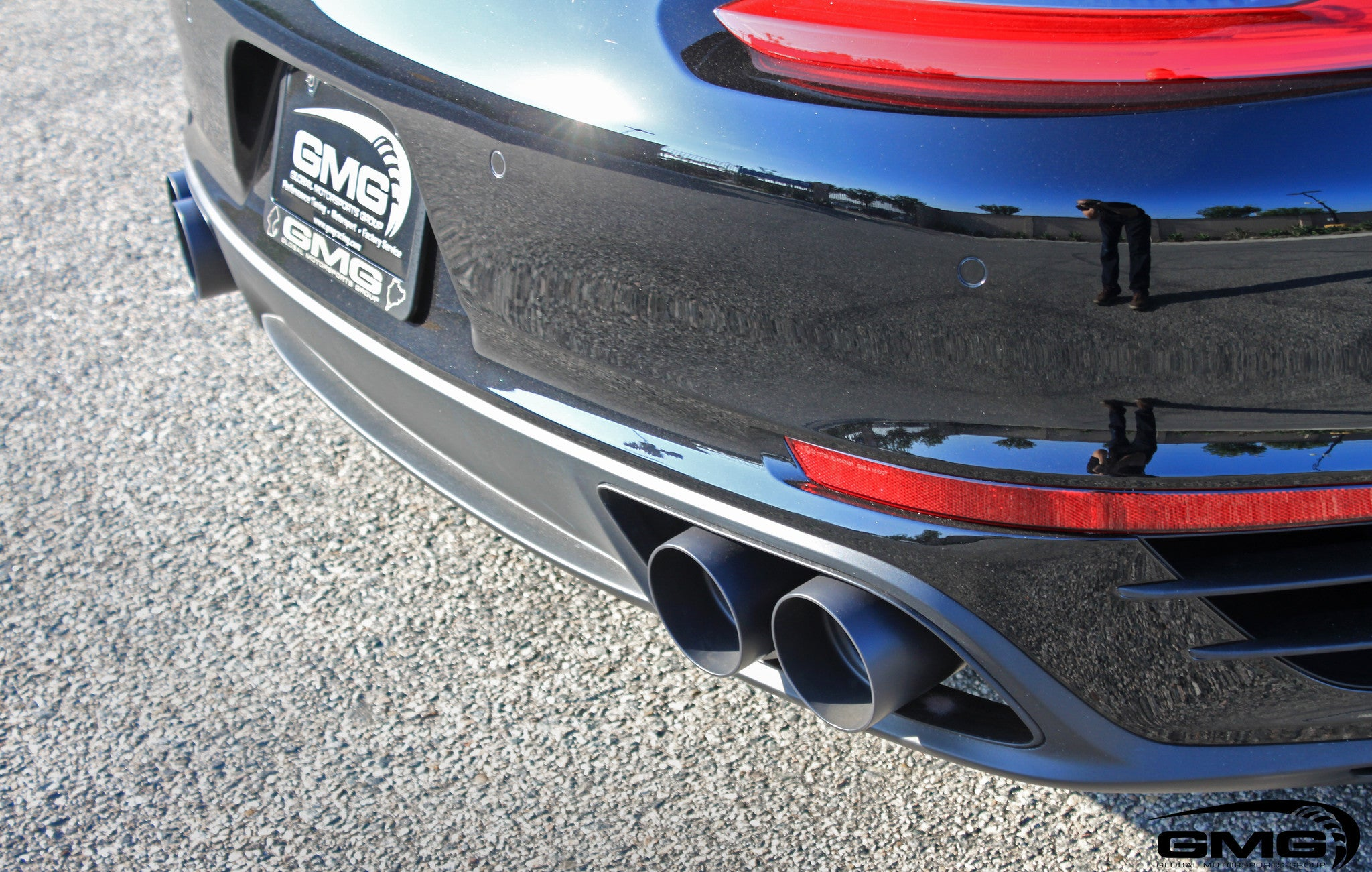 991.2 Turbo GMG WC-Sport Exhaust System