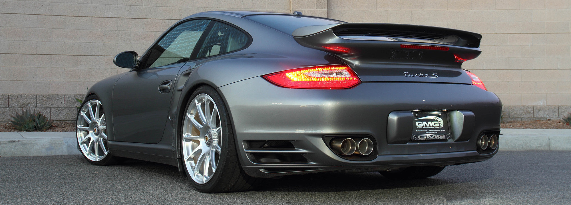 997 2 Turbo Gmg Wc Sport Exhaust System Gmgracing